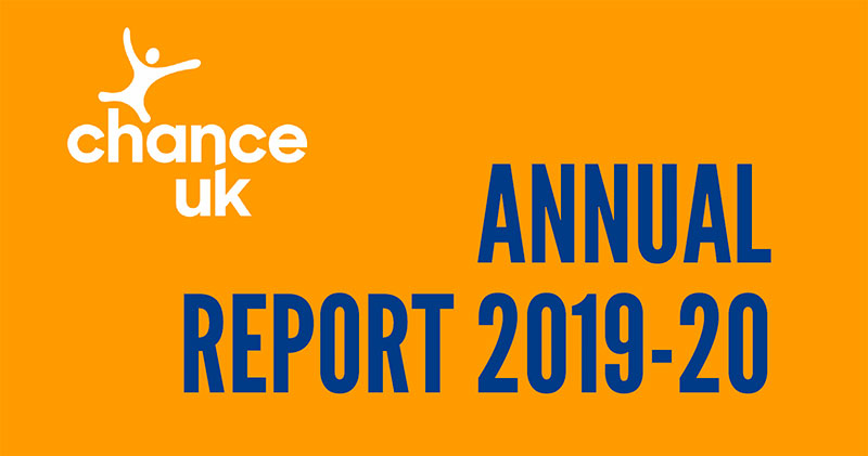 Chance UK Annual Report 2019-2020